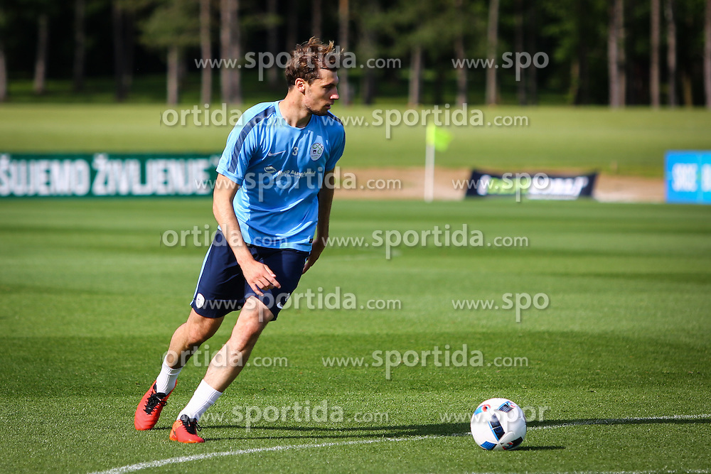 Jon Gorenc Stanković during practice session of Slovenian Football Team practice session of Slovenian National Team before game against Sweden, on May 26, 2016 in Football centre Brdo pri Kranju, Slovenia. Photo by Ziga Zupan / Sportida