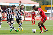 Crawley Town midfielder Jason Banton (10) looks to get a cross into the box during the EFL Sky Bet League 2 match between Crawley Town and Notts County at the Checkatrade.com Stadium, Crawley, England on 27 August 2016. Photo by Andy Walter.