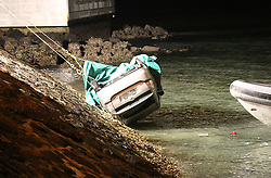 NZ Police divers after two hours of underwater searching have recovered a car submerged in Auckland' Harbour, off Westhaven Drive which is believed to have at least one person inside, Auckland, New Zealand, Tuesday, September 19, 2017. Credit:SNPA / Hayden Woodward**NO ARCHIVING**