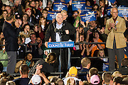 Presedential candidate John McCain speaks to a crowd of supporters during a campaign rally at Ohio University Lancaster Sunday, October 26.