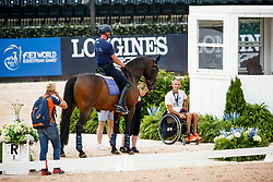 Hosmar Frank, NED, Alphaville NOP<br /> World Equestrian Games - Tryon 2018<br /> © Hippo Foto - Sharon Vandeput<br /> 15/09/2018