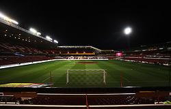 General view of the City Ground - Mandatory byline: Jack Phillips / JMP - 07966386802 - 20/10/2015 - FOOTBALL - The City Ground - Nottingham, Nottinghamshire - Nottingham Forest v Burnley - Sky Bet Championship