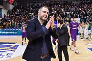 Stefanos Dedas<br /> Banco di Sardegna Dinamo Sassari - Unet Hapoel Holon<br /> FIBA BCL Basketball Champions League 2019-20<br /> Sassari, 28/01/2020<br /> Foto L.Canu / Ciamillo-Castoria