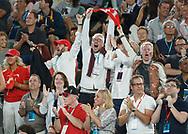 Feature, Schweizer Fans jubeln auf der Tribune,Freude,Emotion<br /> <br /> Australian Open 2017 -  Melbourne  Park - Melbourne - Victoria - Australia  - 29/01/2017.