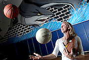 5/2/07 -- RIVERVIEW -- Riverview's Michelle Trugillo is the 2007 Tampa Tribune female Athlete of the Year, juggling basketball, volleyball, track and field and flag football into a scholarship at the University of Central Florida. Photo by KELVIN MA/staff