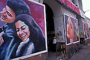 Cinema hordings, Connaught Circus, Delhi