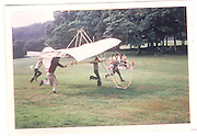 David Kirke. The Dangerous Sports Club. Further experiments in flying machines of an unorthodox structure by Edward© Copyright Photograph by Dafydd Jones 66 Stockwell Park Rd. London SW9 0DA Tel 020 7733 0108 www.dafjones.com
