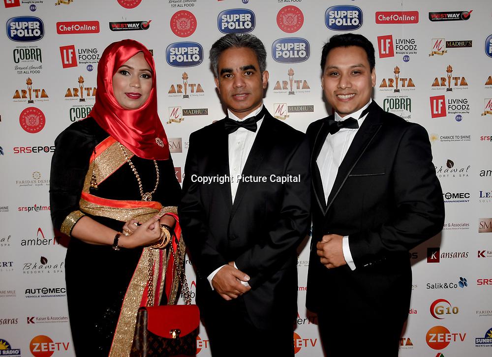 Mohammad Munim founder of ARTA attend at Asian Restaurant & Takeaway Awards | ARTA 2018 at InterContinental London - The O2, London, UK. 30 September 2018.