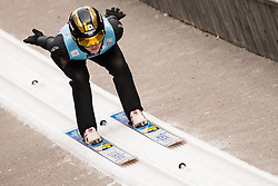 February 7, 2019 - Ljubno, Savinjska, Slovenia - Sofia Tikhonova of Russia competes on qualification day of the FIS Ski Jumping World Cup Ladies Ljubno on February 7, 2019 in Ljubno, Slovenia. (Credit Image: © Rok Rakun/Pacific Press via ZUMA Wire)