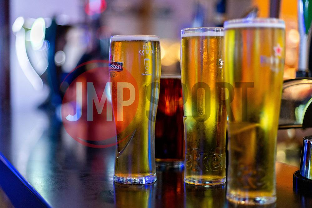 Pints of Heineken at the Bar - Ryan Hiscott/JMP - 06/08/2018 - RUGBY - Sandy Park - Exeter, England - Exeter Chiefs Season Launch Dinner