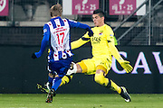 ALKMAAR - 25-01-2017, AZ - sc Heerenveen, AFAS Stadion, SC Heerenveen speler Martin Odegaard, AZ keeper Sergio Rochet