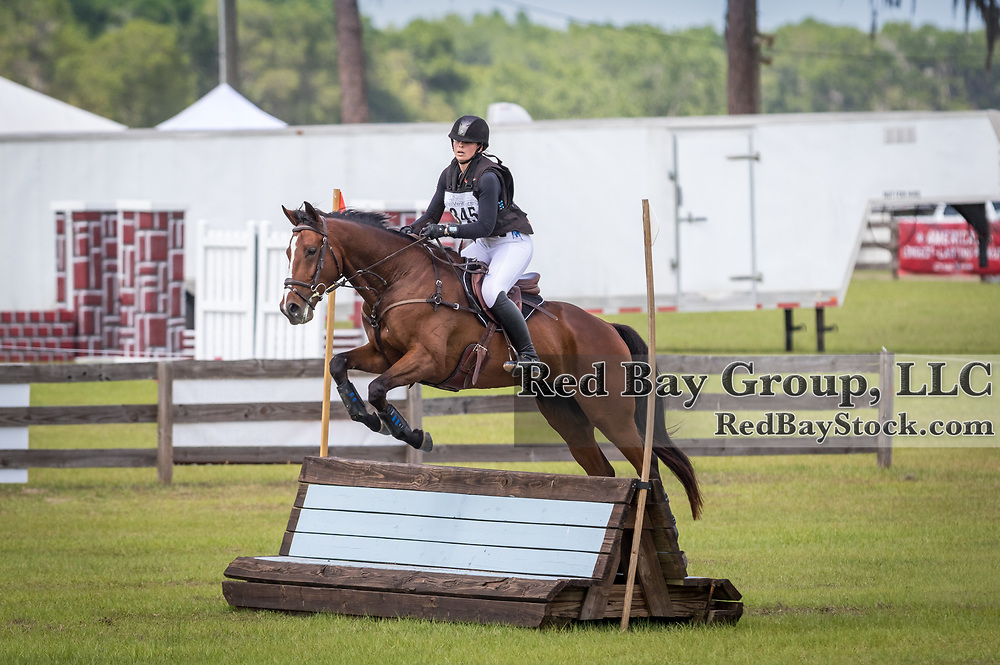 Emmalie Clapp and Take A Hint at the Ocala International in Ocala, Florida.