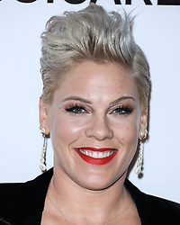 LOS ANGELES, CA, USA - FEBRUARY 08: 2019 MusiCares Person Of The Year Honoring Dolly Parton held at the Los Angeles Convention Center on February 8, 2019 in Los Angeles, California, United States. 08 Feb 2019 Pictured: P!nk, Pink, Alecia Moore. Photo credit: Xavier Collin/Image Press Agency / MEGA TheMegaAgency.com +1 888 505 6342
