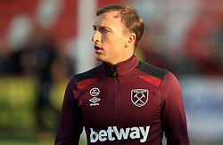 Mark Noble of West Ham United - Mandatory by-line: Paul Roberts/JMP - 23/08/2017 - FOOTBALL - LCI Rail Stadium - Cheltenham, England - Cheltenham Town v West Ham United - Carabao Cup