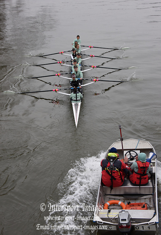 Putney. London,  Great Britain.<br /> <br /> 2016 Tideway Week, Putney. Putney Embankment, Championship Course. Tiver Thames.<br /> <br /> Wednesday  23/03/2016 <br /> <br /> [Mandatory Credit; Intersport-images]