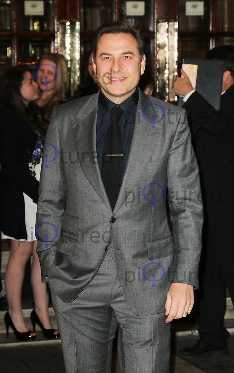 David Walliams, I Can't Sing! The X Factor Musical - press night, London Palladium, London UK, 26 March 2014, Photo by Richard Goldschmidt