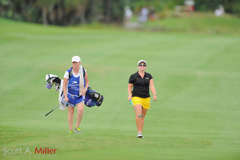 Stephanie Connelly during the final round of the Daytona Beach Invitational  at LPGA International on Sep 30, 2012 in Daytona Beach, Florida...©2012 Scott A. Miller