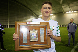 EDINBURGH, SCOTLAND - Friday, November 4, 2016: Scotland's Max Murphy in action against Republic of Ireland during the Under-16 2016 Victory Shield match at ORIAM. (Pic by David Rawcliffe/Propaganda)