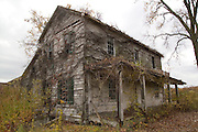 Ste. Genevieve, Missouri MO USA, An abandoned farm house