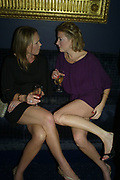 Nadia Azlen and Fiona Kent, Tatler's Little Black Book party. Tramp. Jermyn St.  London. 7 November 2007. -DO NOT ARCHIVE-© Copyright Photograph by Dafydd Jones. 248 Clapham Rd. London SW9 0PZ. Tel 0207 820 0771. www.dafjones.com.