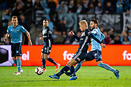 SYDNEY, AUSTRALIA - MAY 12: Melbourne Victory midfielder Keisuke Honda (4) kicks the ball at the Elimination Final of the Hyundai A-League Final Series soccer between Sydney FC and Melbourne Victory on May 12, 2019 at Netstrata Jubilee Stadium in Sydney, Australia. (Photo by Speed Media/Icon Sportswire)