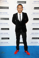 LONDON - NOVEMBER 10: Aston Merrygold attended the Grey Goose Winter Ball at Battersea Power Station, London, UK. November 10, 2012. (Photo by Richard Goldschmidt)