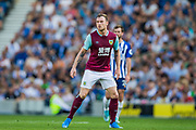 Ashley Barnes (Burnley) during the Premier League match between Brighton and Hove Albion and Burnley at the American Express Community Stadium, Brighton and Hove, England on 14 September 2019.