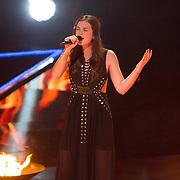 NLD/Hilversum/20151205- Eerste Live uitzending The Voice 2015, Maan