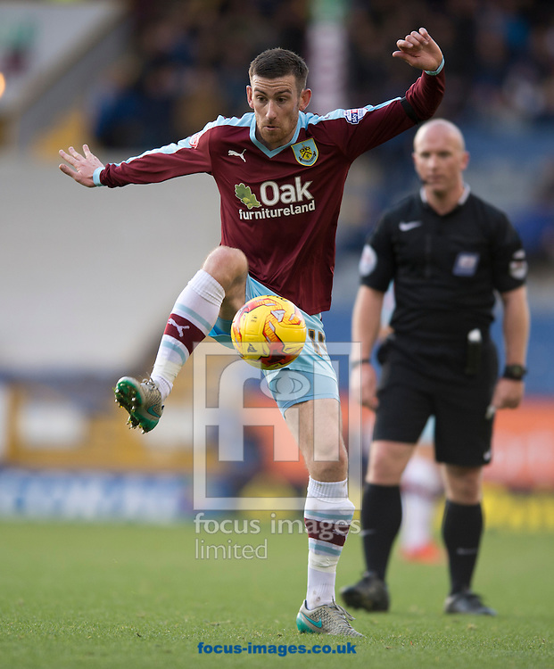 David Jones of Burnley during the Sky Bet Championship match at Turf Moor, Burnley<br /> Picture by Russell Hart/Focus Images Ltd 07791 688 420<br /> 22/11/2015