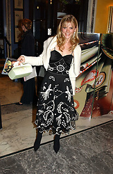 Actress EMILIA FOX at the launch of MAC's High Tea collection with leading British designers held at The Berkeley Hotel, London on 17th January 2005.  MAC has collabroated with The Berkeley's Pret-a-Portea, which adds a creative twist to th classic elements of the English afternoon tea with cakes and pastries inspired by fashion designs.<br /><br />NON EXCLUSIVE - WORLD RIGHTS