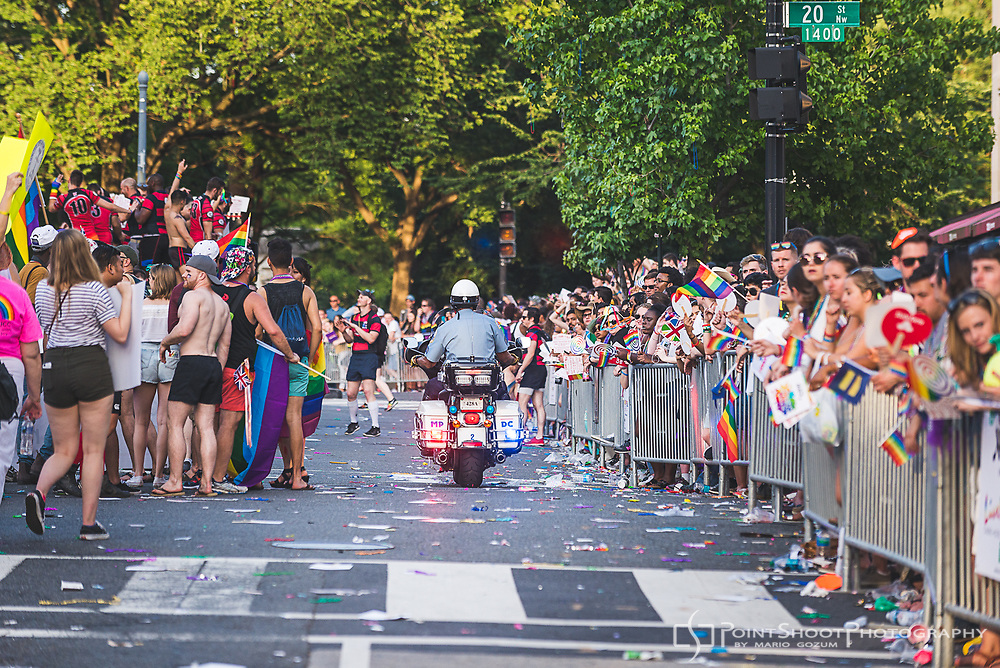 2017 Capital Pride Parade with American Foundation for Suicide Prevention, National Capital Area Chapter.