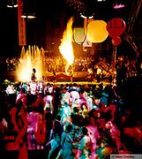 Manumission fire breather, Ibiza 1998