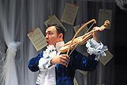 Prima La Musica<br /> Opera At Home Ensemble<br /> at The Arcola Theatre, London, Great Britain <br /> 25th August 2011 <br /> Rehearsal <br /> Grimeborn The Opera Festival<br /> directed by Jose Manuel Gandia<br /> <br /> Victor Sgarbi (as Maestro)<br /> <br /> <br /> Photograph by Elliott Franks