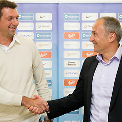 20130527: SLO, Football - Press conference of Hervis Cup before final match
