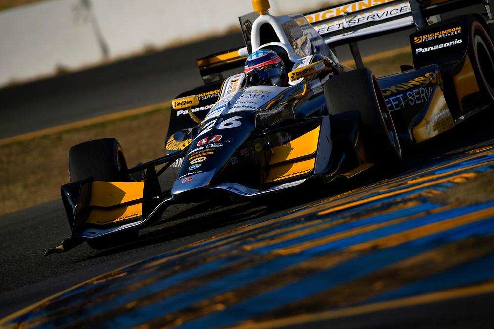 Verizon IndyCar Series<br /> GoPro Grand Prix of Sonoma<br /> Sonoma Raceway, Sonoma, CA USA<br /> Saturday 16 September 2017<br /> Takuma Sato, Andretti Autosport Honda<br /> World Copyright: Scott R LePage<br /> LAT Images<br /> ref: Digital Image lepage-170916-son-10559