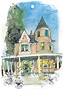 "The ""Georgetown Castle"" is a highlight of Halloween walking tours organized by the Friends of Georgetown History. <br />