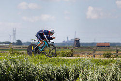 ERMENAULT Corentin from FRANCE during Men Elite Time Trial at 2019 UEC European Road Championships, Alkmaar, The Netherlands, 8 August 2019. <br /> <br /> Photo by Thomas van Bracht / PelotonPhotos.com <br /> <br /> All photos usage must carry mandatory copyright credit (Peloton Photos | Thomas van Bracht)