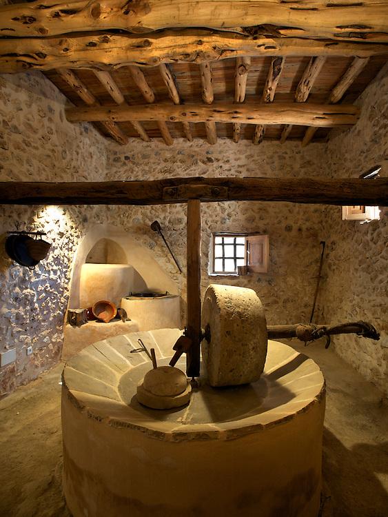 19/Junio/2009 Eivissa.Molino de aceite en Cas Costas en Sant Jordi..© JOAN COSTA