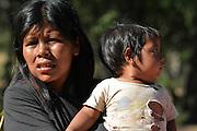 Guarani children in Gutierrez, Santa Cruz, Bolivia
