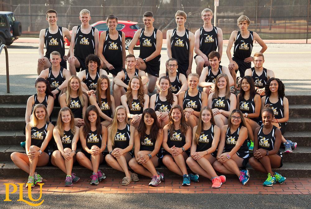 Cross Country team on Monday, Aug. 25, 2014. (Photo/John Froschauer)