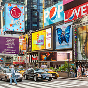 Times Square. New York, NY. USA.