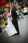 Married Couple Kissing In Little Italy New York