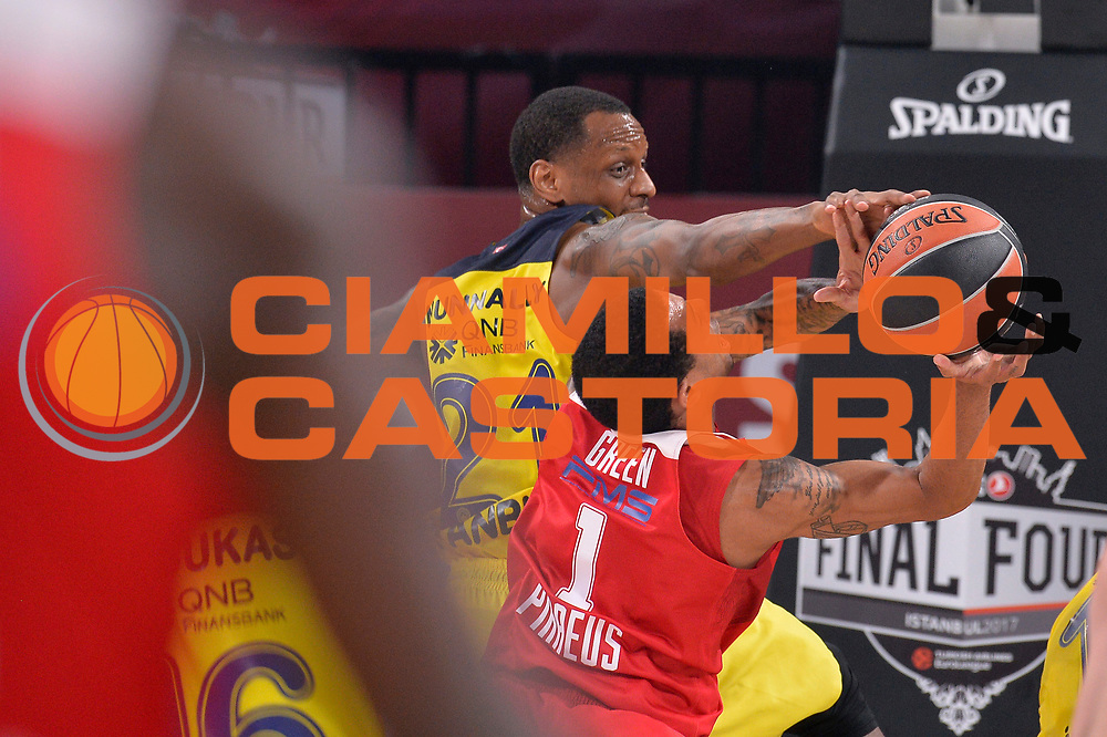 Erick Green, James Nunnally<br /> Fenerbahce Istanbul - Olympiakos Piraeus<br /> Euroleague Final Four 2017<br /> Finale 1 - 2 Posto<br /> Euroleague 2016/2017<br /> Istanbul, 21/05/2017<br /> Foto M.Ceretti / Ciamillo - Castoria