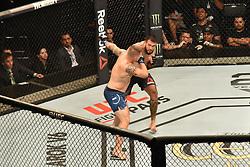 September 22, 2018 - SãO Paulo, Brazil - SÃO PAULO, SP - 22.09.2018: UFC FIGHT NIGHT MARRETA X ANDERS - Augusto Sakai (BRA) X Chase Sherman (USA) at UFC Fight Night Marreta X Anders, this Saturday, (22) in São Paulo. (Credit Image: © Roberto Casimiro/Fotoarena via ZUMA Press)
