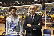 DESCRIZIONE : Torino Lega A 2015-16 Manital Torino - Vanoli Cremona<br /> GIOCATORE : Marco Vitali & Cesare Pancotto<br /> CATEGORIA : <br /> SQUADRA : Vanoli Cremona<br /> EVENTO : Campionato Lega A 2015-2016<br /> GARA : Manital Torino - Vanoli Cremona<br /> DATA : 01/11/2015<br /> SPORT : Pallacanestro<br /> AUTORE : Agenzia Ciamillo-Castoria/M.Matta<br /> Galleria : Lega Basket A 2015-16<br /> Fotonotizia: Torino Lega A 2015-16 Manital Torino - Vanoli Cremona