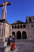 Catholic church at Urcos, near Cuzco