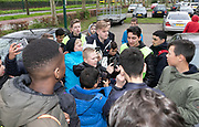 2019, April 17. IJFC, IJsselstein, The Netherlands. Matthyas het Lam at Creators FC - IJFC Legends.