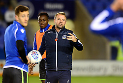 Bristol Rovers assistant manager Marcus Stewart - Mandatory by-line: Dougie Allward/JMP - 17/10/2017 - FOOTBALL - Greenhous Meadow - Shrewsbury, England - Shrewsbury Town v Bristol Rovers - Sky Bet League One