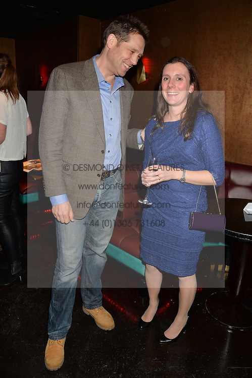 BEN ROSE and CHARLOTTE WINHAN at a party in aid of the Youth at Risk charity held at Raffles, 287 King's Road, London on 27th November 2013.