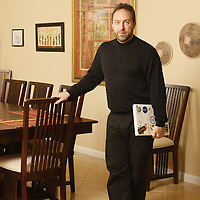 Oct 20, 2007; Clearwater, FL USA.Wikipedia Founder Jimmy Wales at home...Photo by Preston Mack
